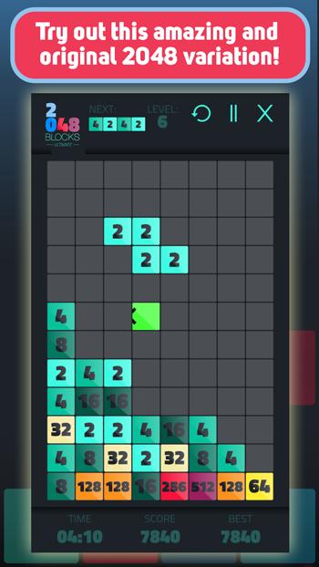 Снимка 2048 Tetris Ultimate