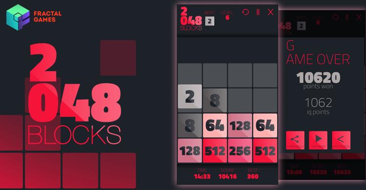 Снимка 2048 Tetris