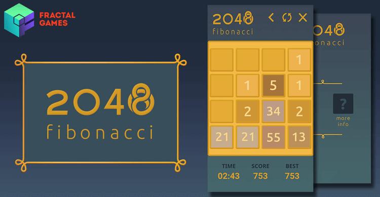 Снимка 2048 Fibonacci